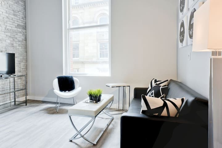 Chic 2BR in Downtown - Boston - Loft