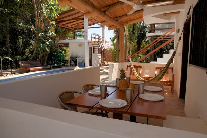 Villas Selva-Din: Pool, Kitchen, 3 bedrooms, playa - Sámara - Villa