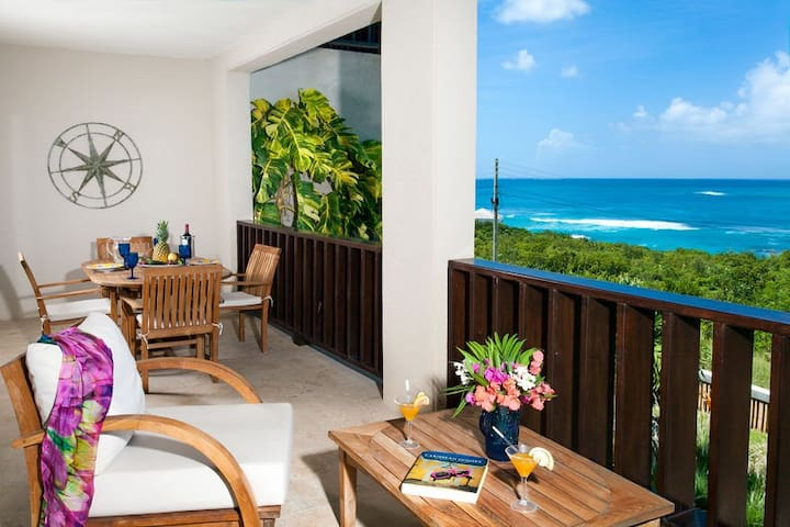 """Fountain Anguilla by """"Refined Retreats""""~Shoal Bay Beach-King Bed, Full Kitchen!"""