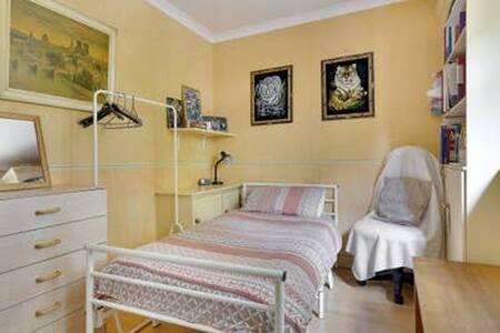 Bright comfy room