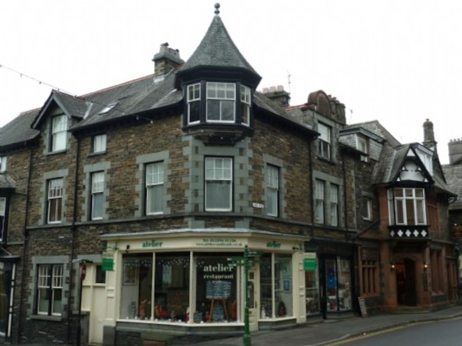 Kelsick Heights, External, Self catering apartment in Ambleside