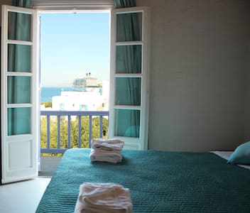 Tagoo Studios Double-Room With Sea View - Tourlos