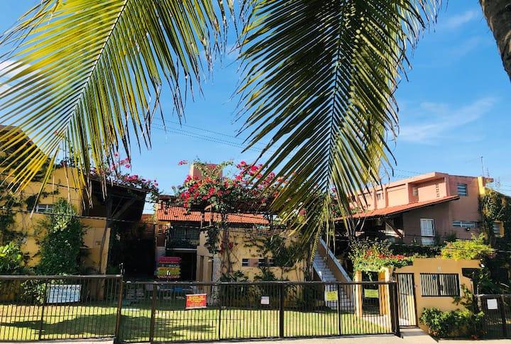 Apartamento 3q a Beira Mar com Piscina - Enseadas