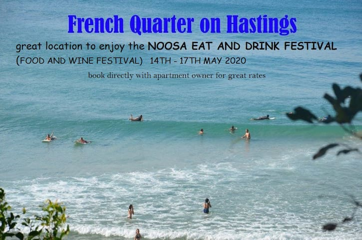 HASTINGS ST Noosa main beach FRENCH QUARTER 128 #