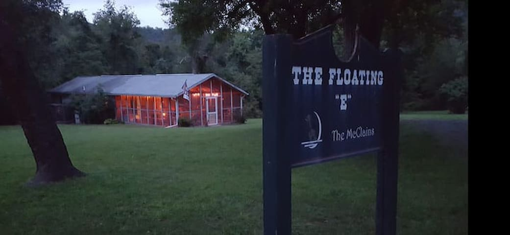 """The Floating """"E""""-Potomac River Frontage, Seclusion"""
