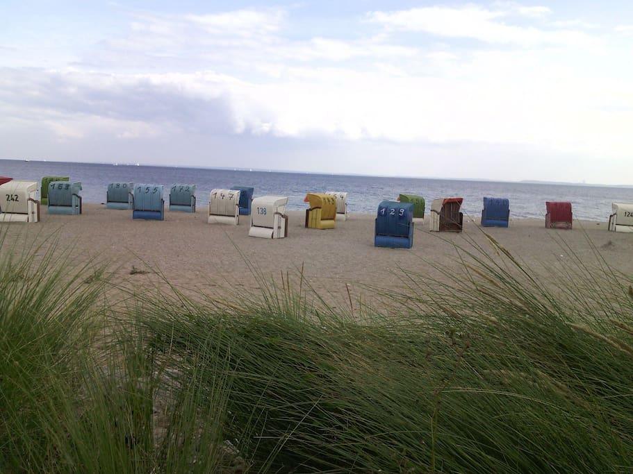 Der schöne Strand von Sierksdorf