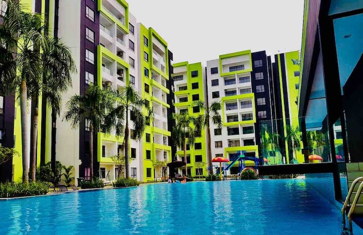 Ipoh Manhattan Condo with Water Park