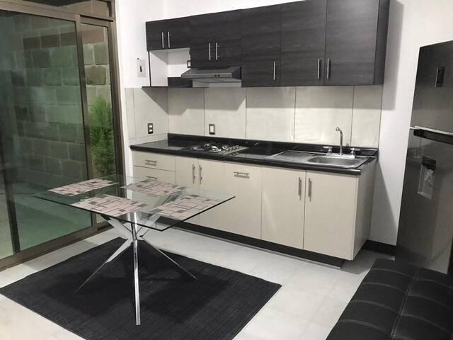 Bonito departamento, equipado, ideal para familias