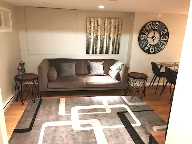 2 bedroom lower level suite