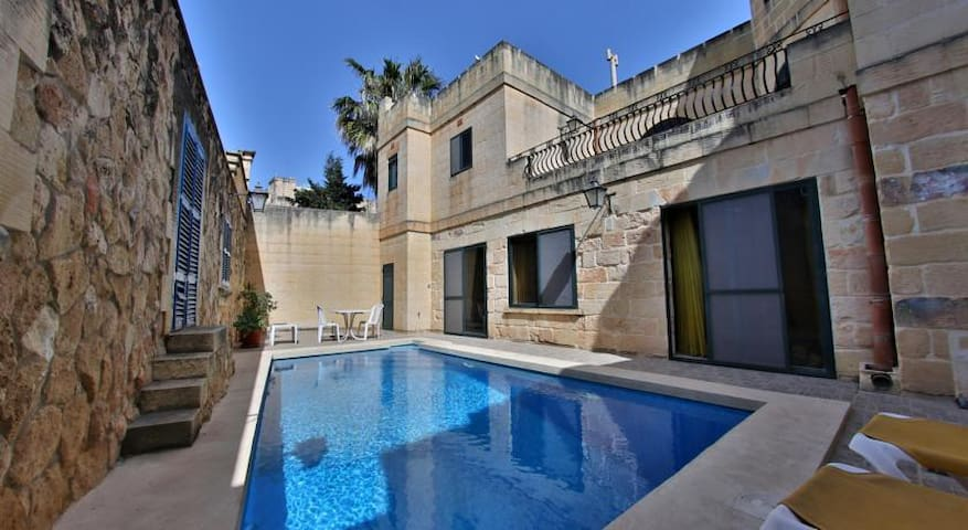 The Shire traditional Gozo House with Private Pool