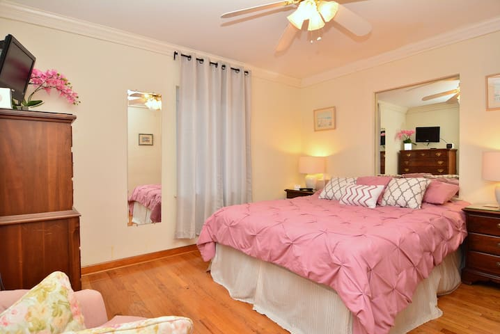 Master Bedroom Suite in the Cottage Suite with Queen Size Bed!