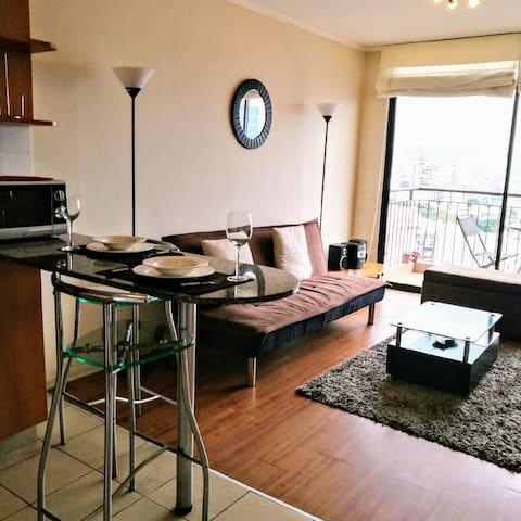 departamento un dormitorio con terraza (c19)