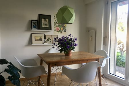 Beautiful room in lovely apartment with garden - 卢塞恩 - 公寓