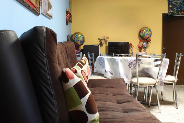 La casa confortable de Sol