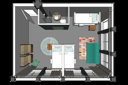 nice apartment, 38 square meters - Nijmegen - Huoneisto