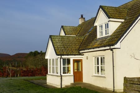Welcoming home situated in East Sutherland - Highland - Casa