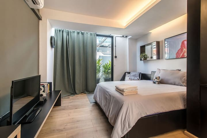 Peaceful Retreat on City Fringe E3 - Singapore - Huoneisto