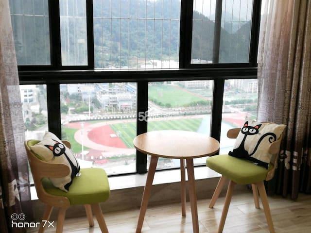 都匀万达广场沃尔玛思思公寓,舒适,安静,卫生,性价比极高,欢迎您入住!