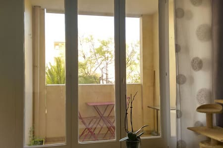 Appartement avec petite terrasse - Montpellier - Apartment