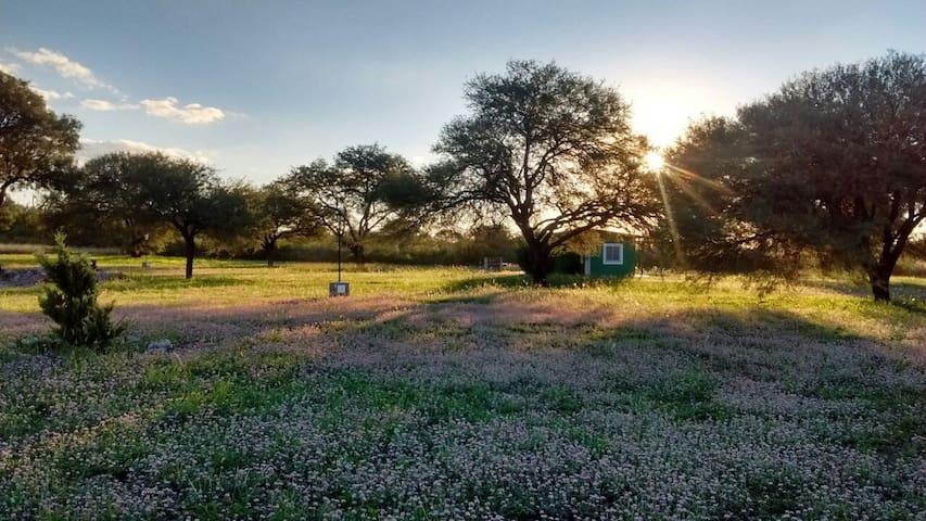 Cabañas de campo  Los Algarrobos ideal parejas