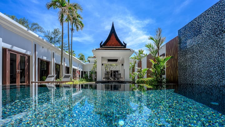 MaikhaoDream Phuket 2Bedroom Beachfront Pool Villa