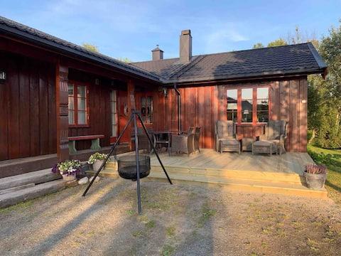 Hus på Rauland i flotte omgivelser