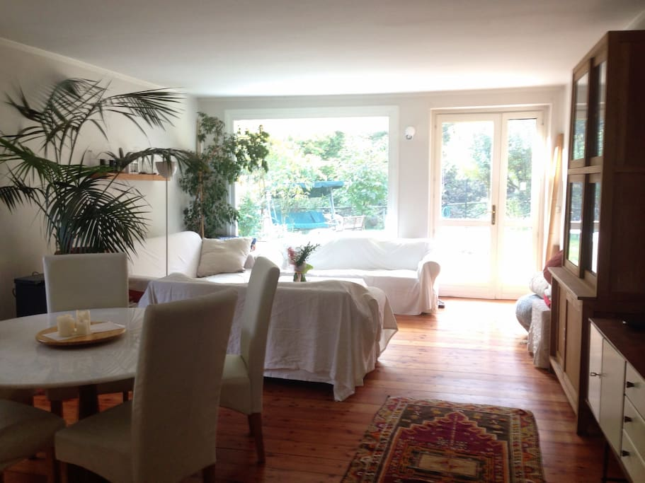 ground floor - living room in summer