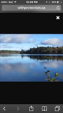 Danford Lake West Quebec - Kazabazua - Kisház