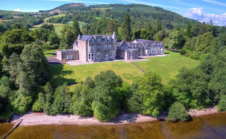 """The Monarch"", Lomond Castle, Loch Lomond"