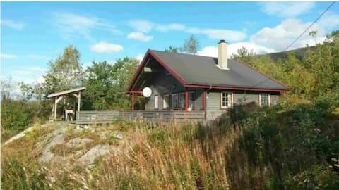 Beautiful cabin in Norwegian nature
