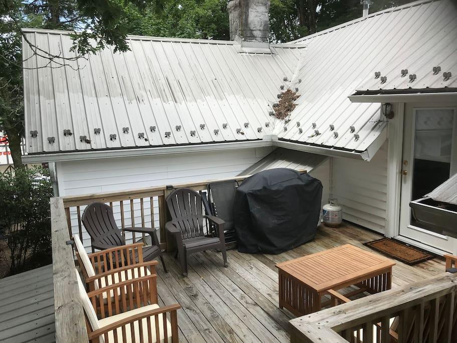 Private deck