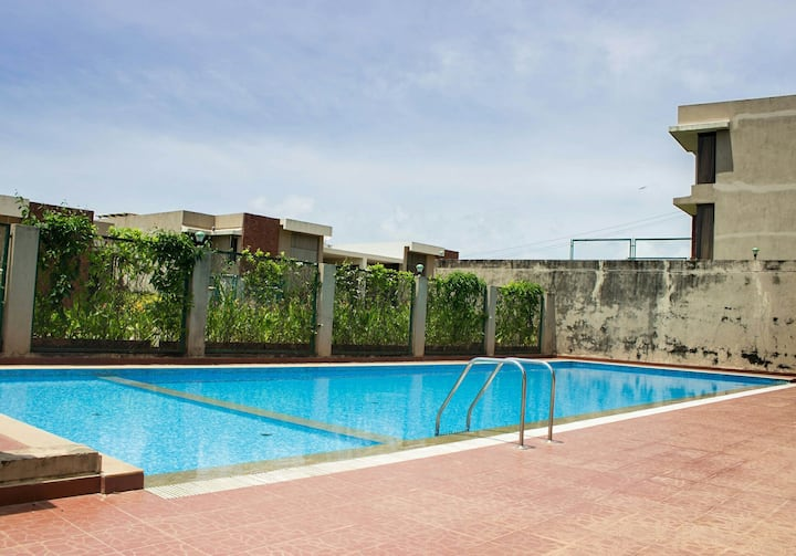 Sweet stay in serene South Goa 1 bedroom with pool