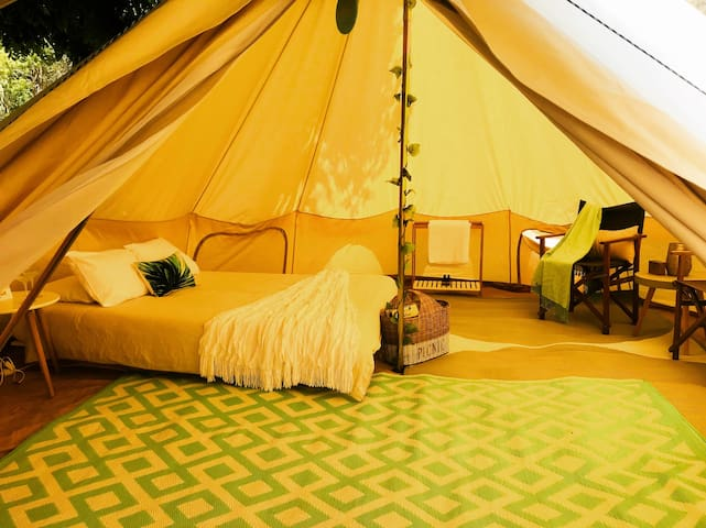 Luxury Camping set up for You!