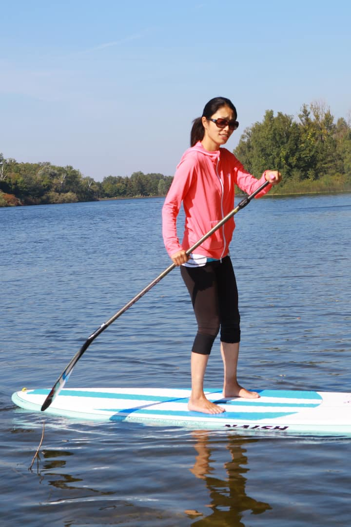 learn to sup on toronto islands