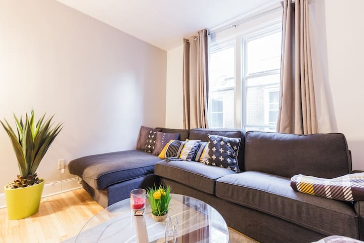 Chambre cosy dans un condo en plein cœur de quebec - Ville de Québec - Apartment