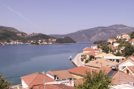 """ Vathi View "" traditional house in Vathi, Ithaki. - Vathy"