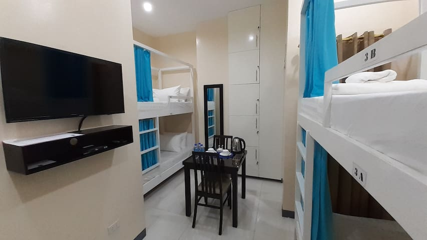 NEW! Quad sharing with curtains near SM Ormoc