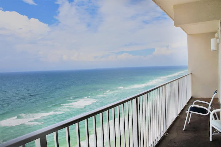 DEAL>Oct 22-25 $540☼BeachViews☼Indoor Heated Pool☼Disinfected 2x☼Tidewater 2412