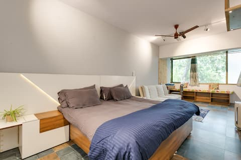 Isolated private /1 bhk studio  in GK1 -m