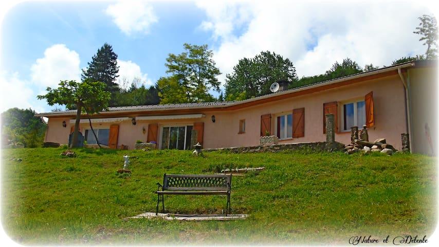 Gîte Villa Marquises - Serres-sur-Arget - วิลล่า
