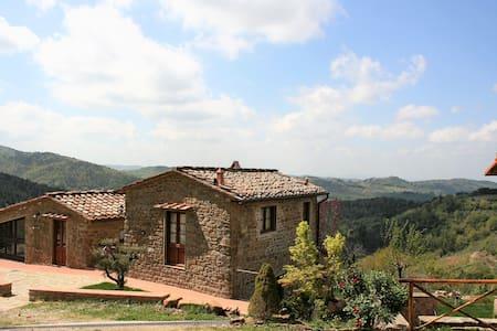 Le Balze di Pile Farmhouse - Greve in Chianti - 基安蒂格雷沃 - 公寓