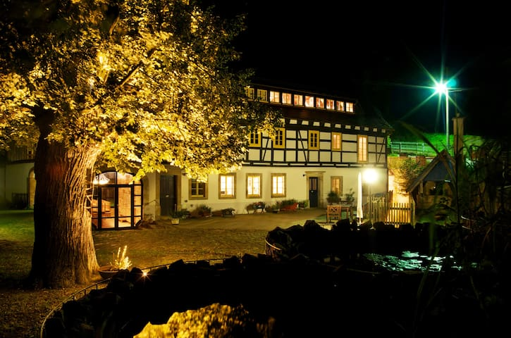 Ferienwohnung am Tharandter Wald bei Dresden - Wilsdruff - Lejlighed
