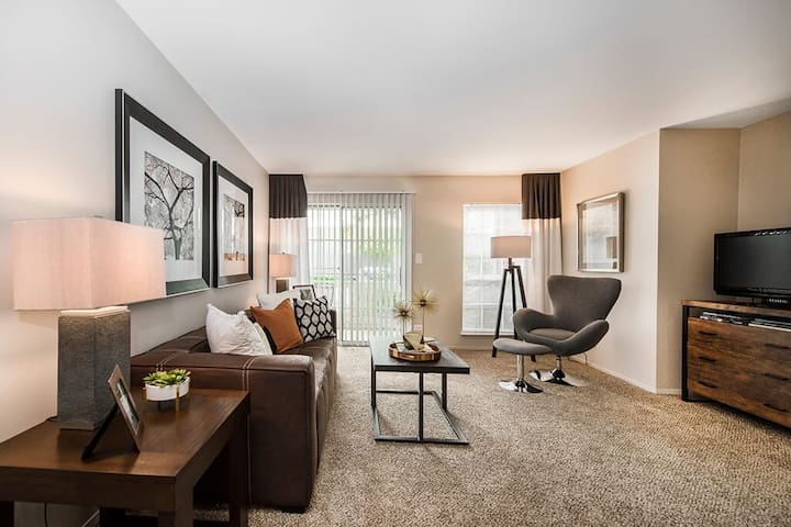 Clean apt just for you   1BR in Lombard