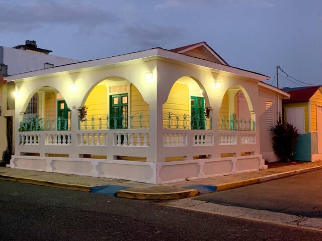 Old Caribbean House 1921-Loíza Centro