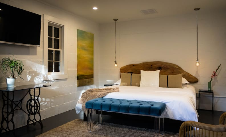 Starry's Studio- chic suite in the heart of FBG