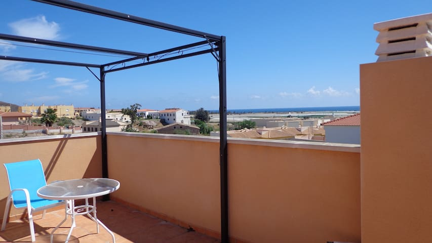 Great house close to the sea & local village - Palomares - Huis