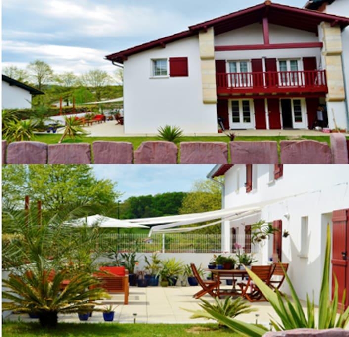 Appartement t3 terrasse et jardin appartements en for Appartement terrasse et jardin