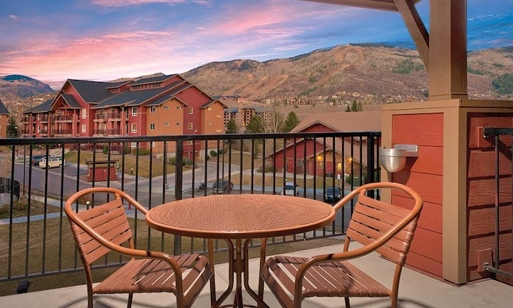 1 BR Suite in the heart of Steamboat Springs CO!