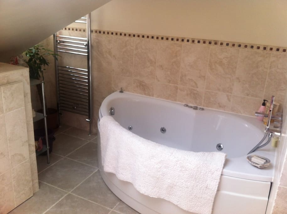 Why not try the Jacuzzi in your Private bathroom room