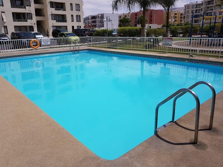Departamento con piscina en Arica